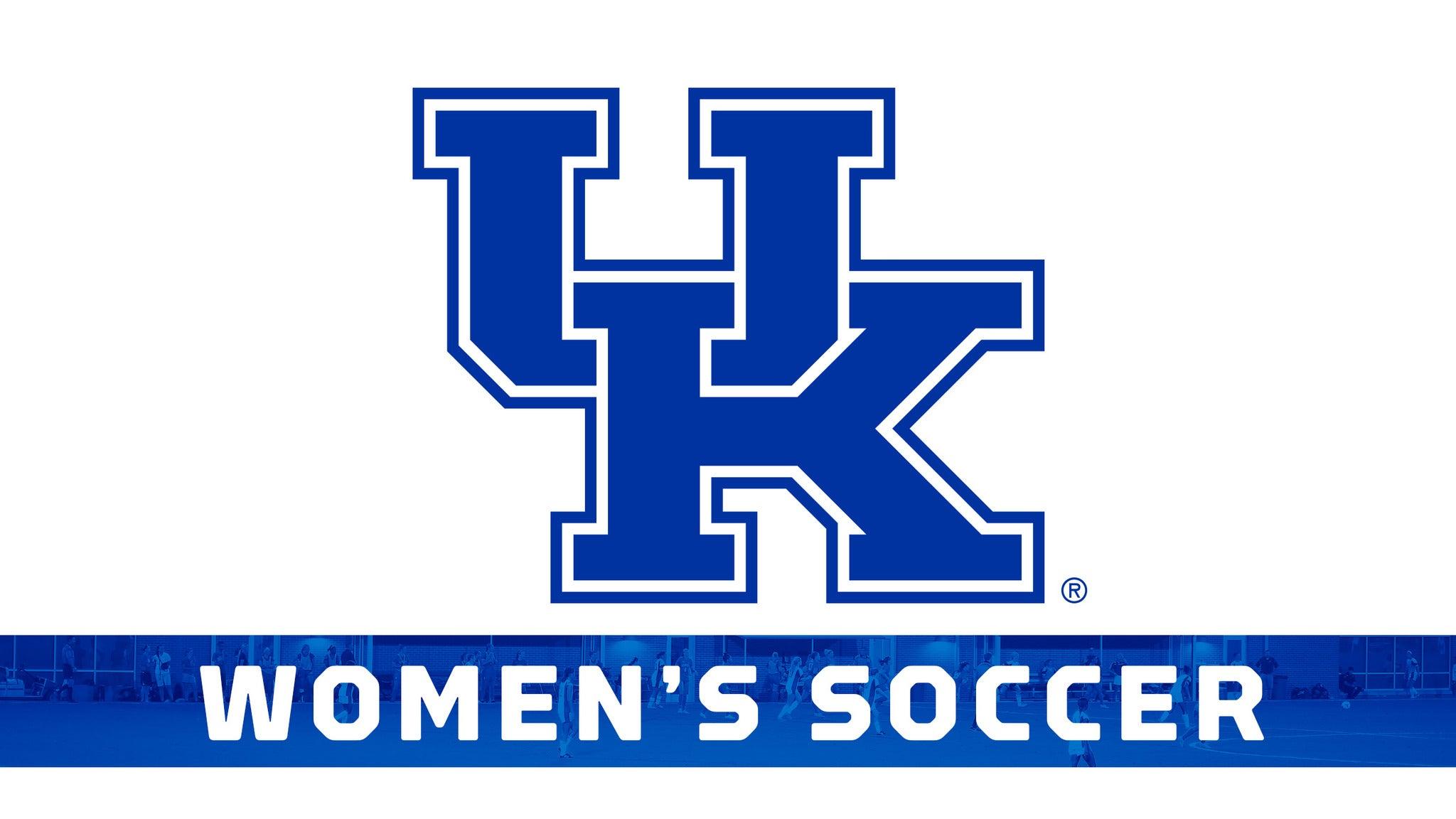 Kentucky Wildcats Womens Soccer vs. Ole Miss Rebels Womens Soccer