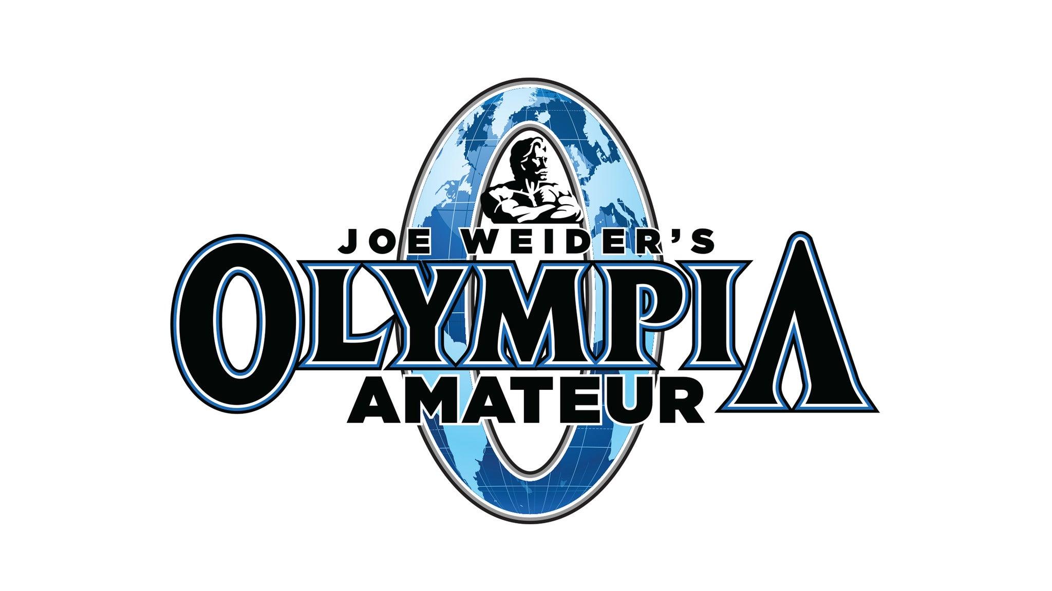 Amateur Olympia - Men's Divisions