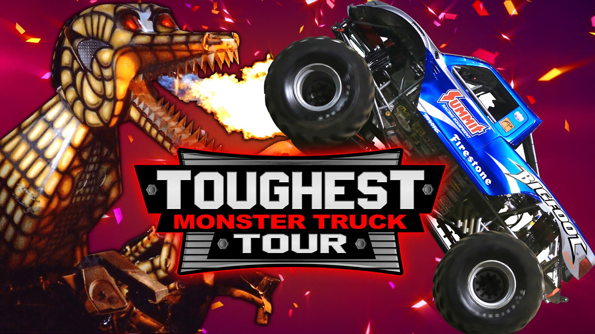 Hugo's Toughest Monster Truck Tour - Championship Weekend