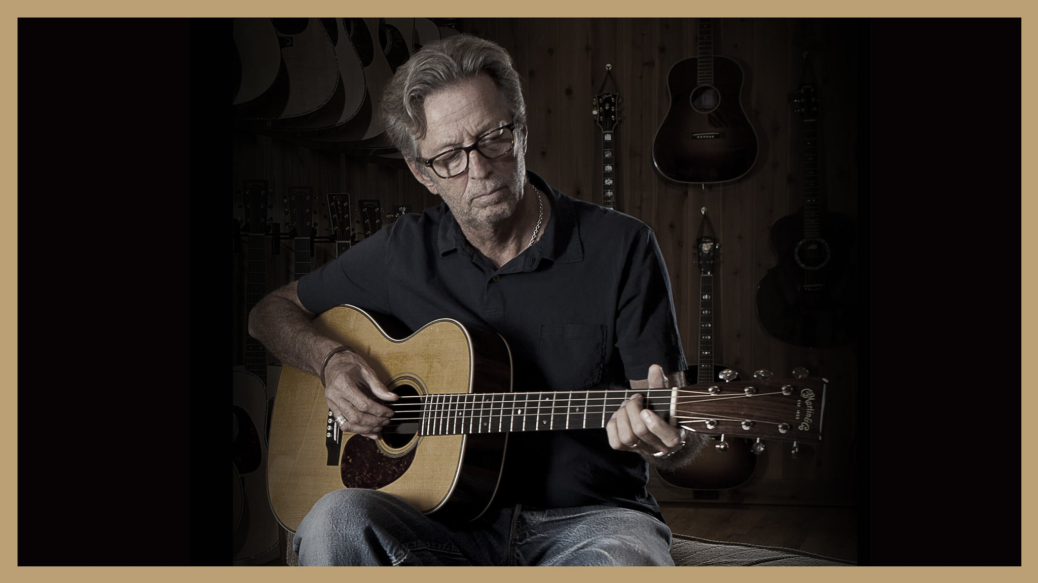 Eric Clapton VIP Packages tickets (Copyright © Ticketmaster)
