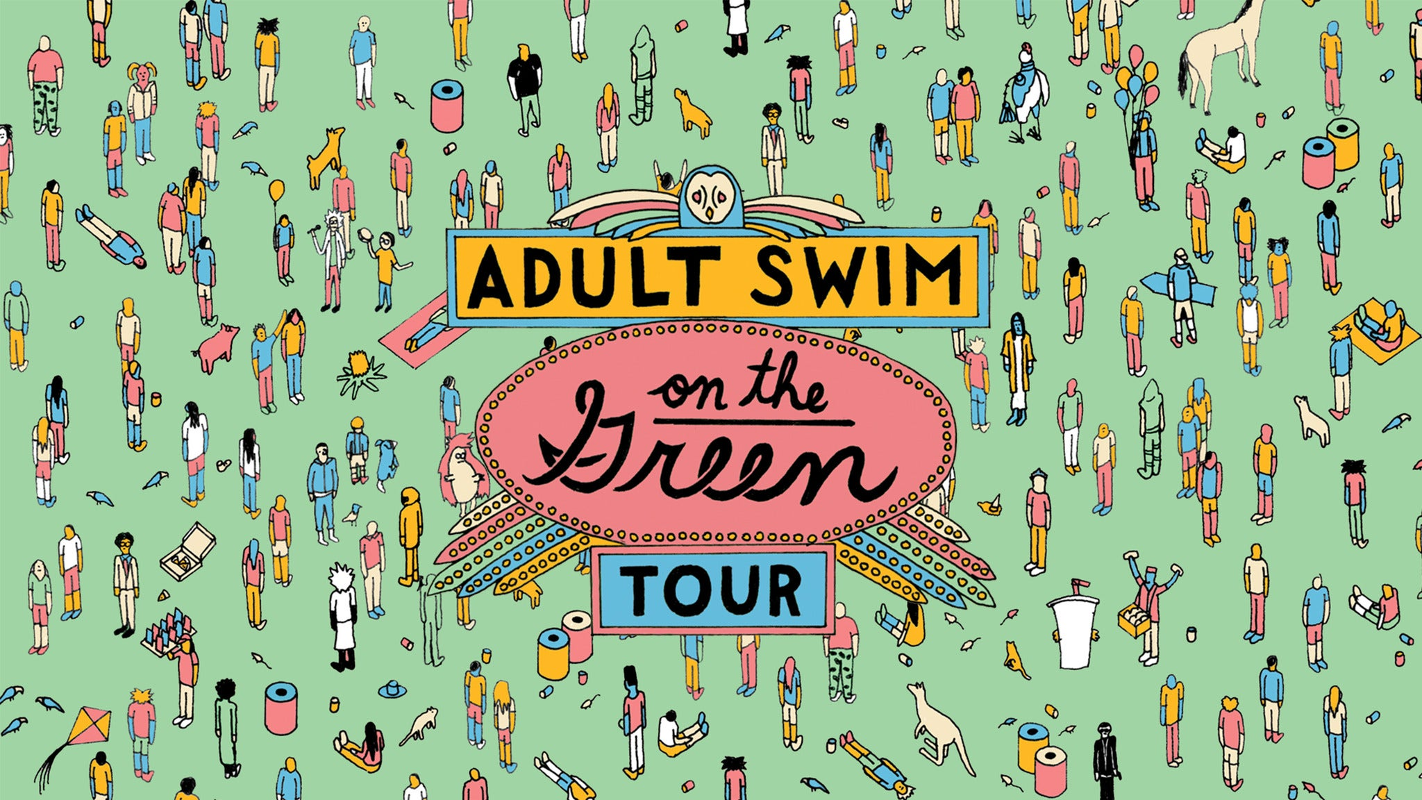 Adult Swim On The Green Milwaukee at Veterans Park