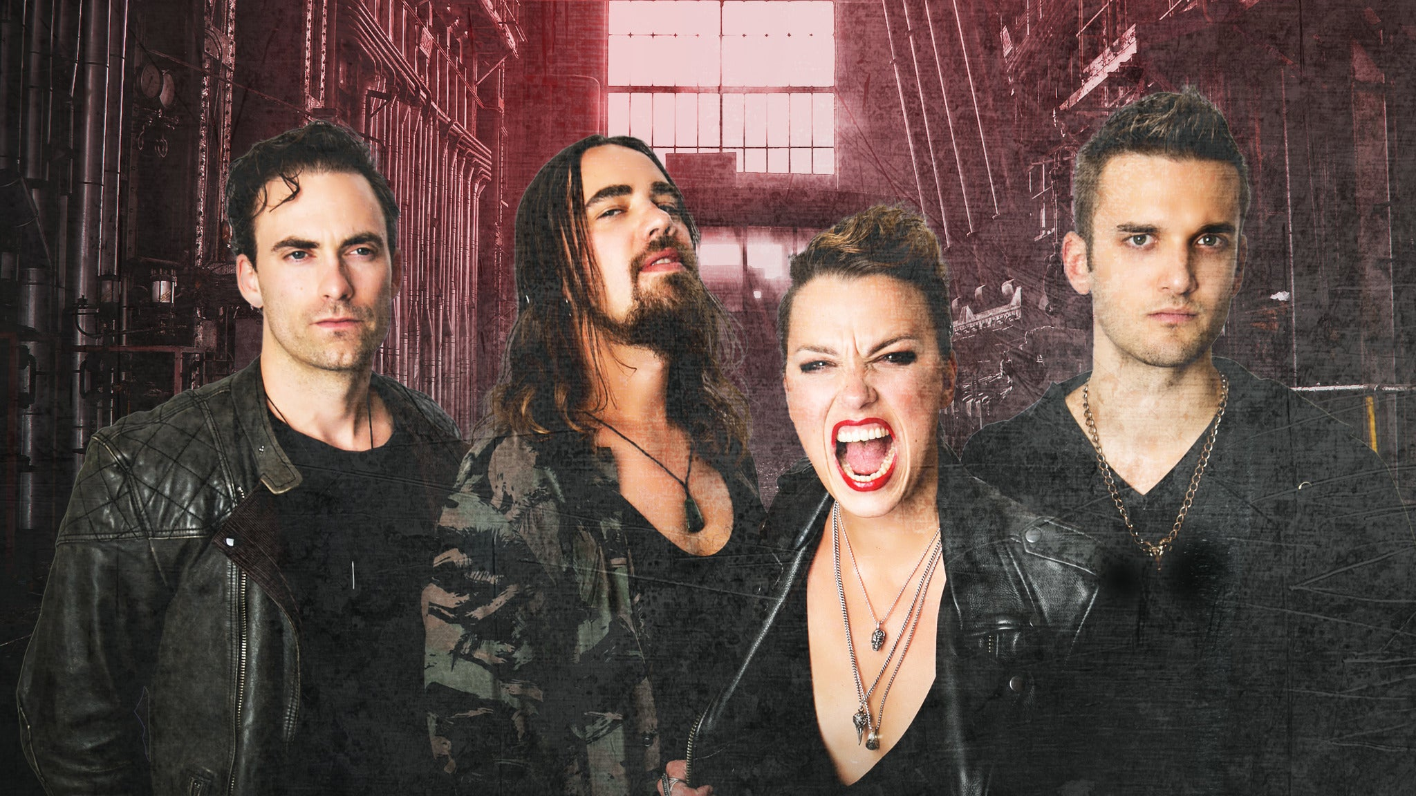 Halestorm at Dubuque County Fair