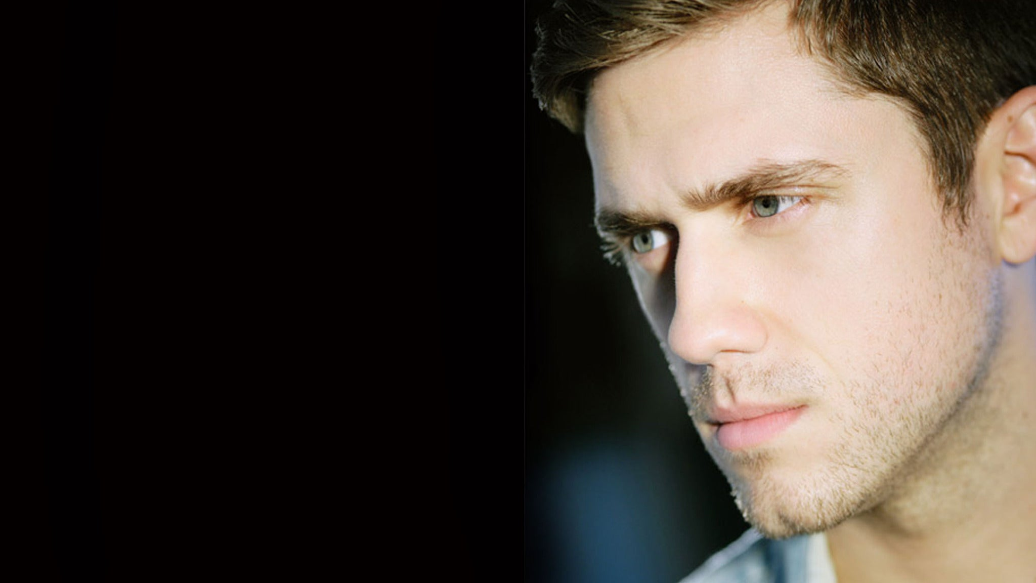 Aaron Tveit at The Belasco Theater
