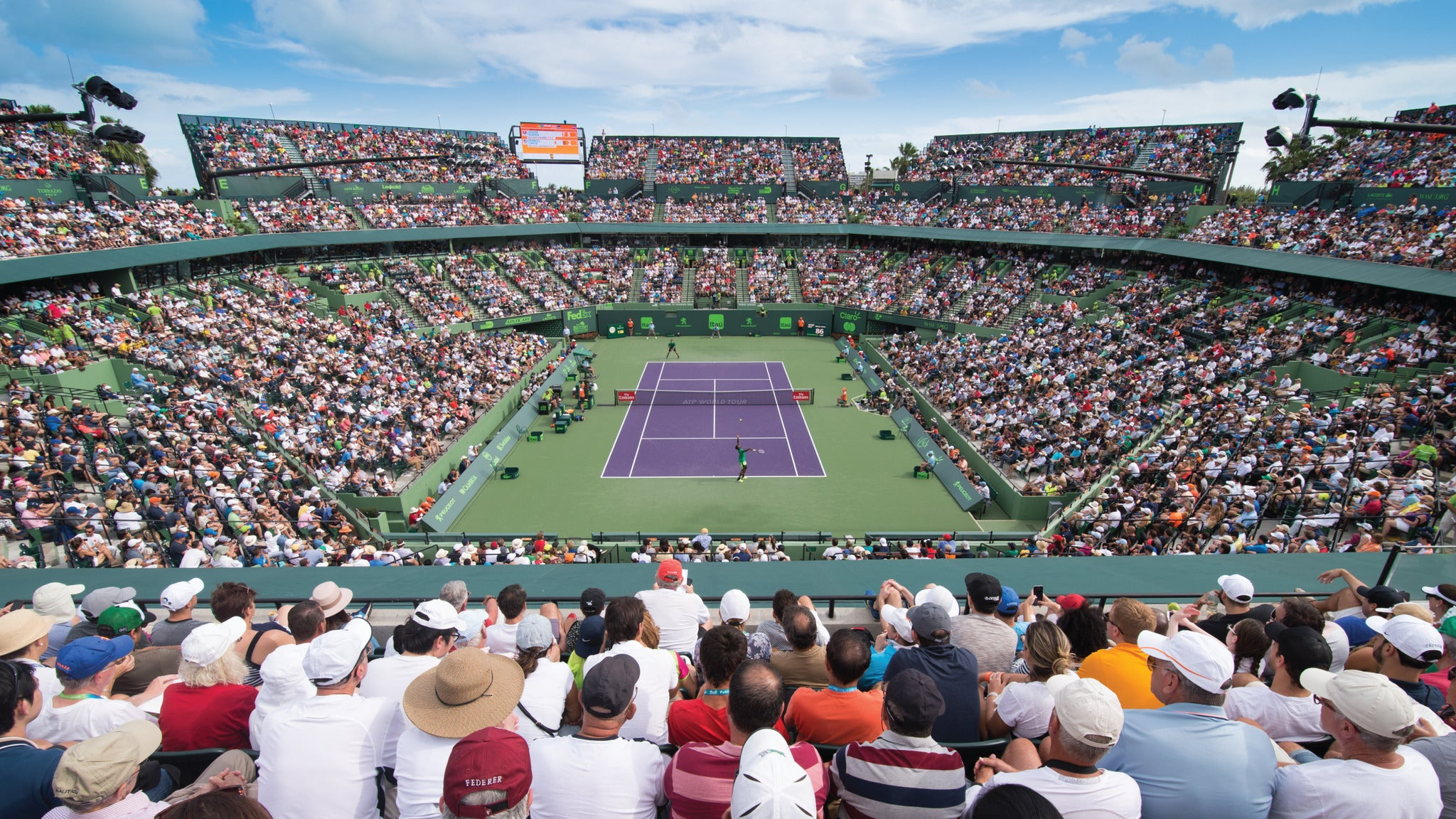 Miami Open Packages On Sale Now