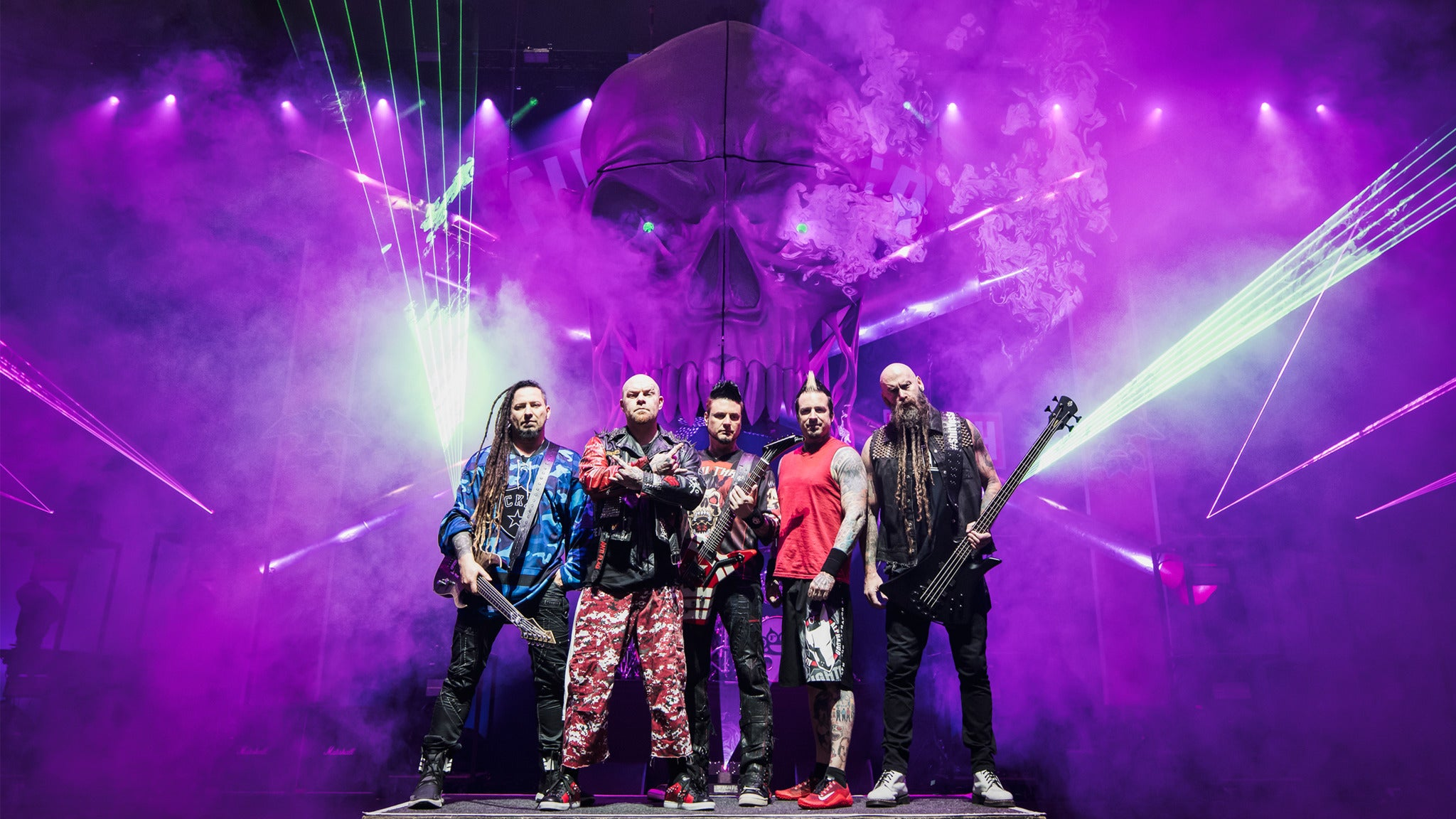95.5 Klos Whiplash Presents Five Finger Death Punch