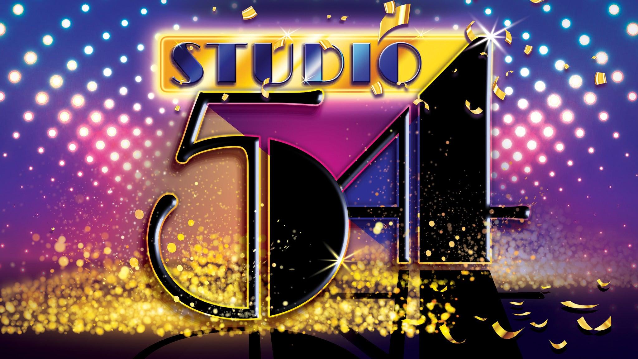 Studio 54 tickets (Copyright © Ticketmaster)
