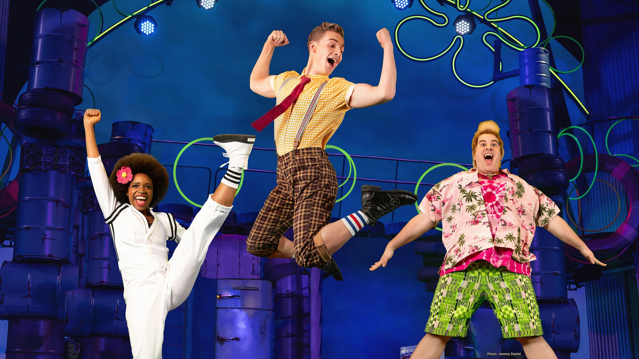 The Spongebob Musical at Boch Center Wang Theatre