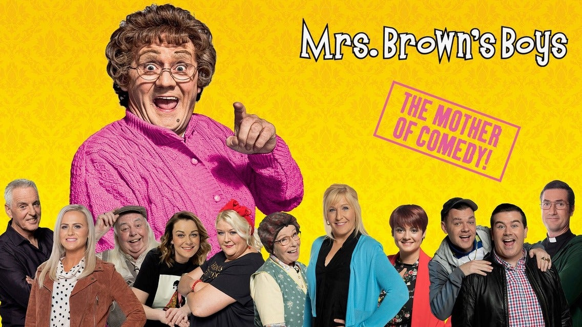 MRS Brown's Boys D'live Show Manchester Apollo Seating Plan
