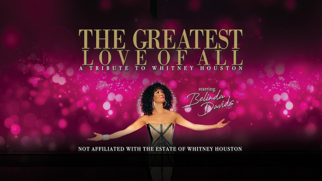 Hotels near The Greatest Love of All - A tribute to Whitney Houston Events