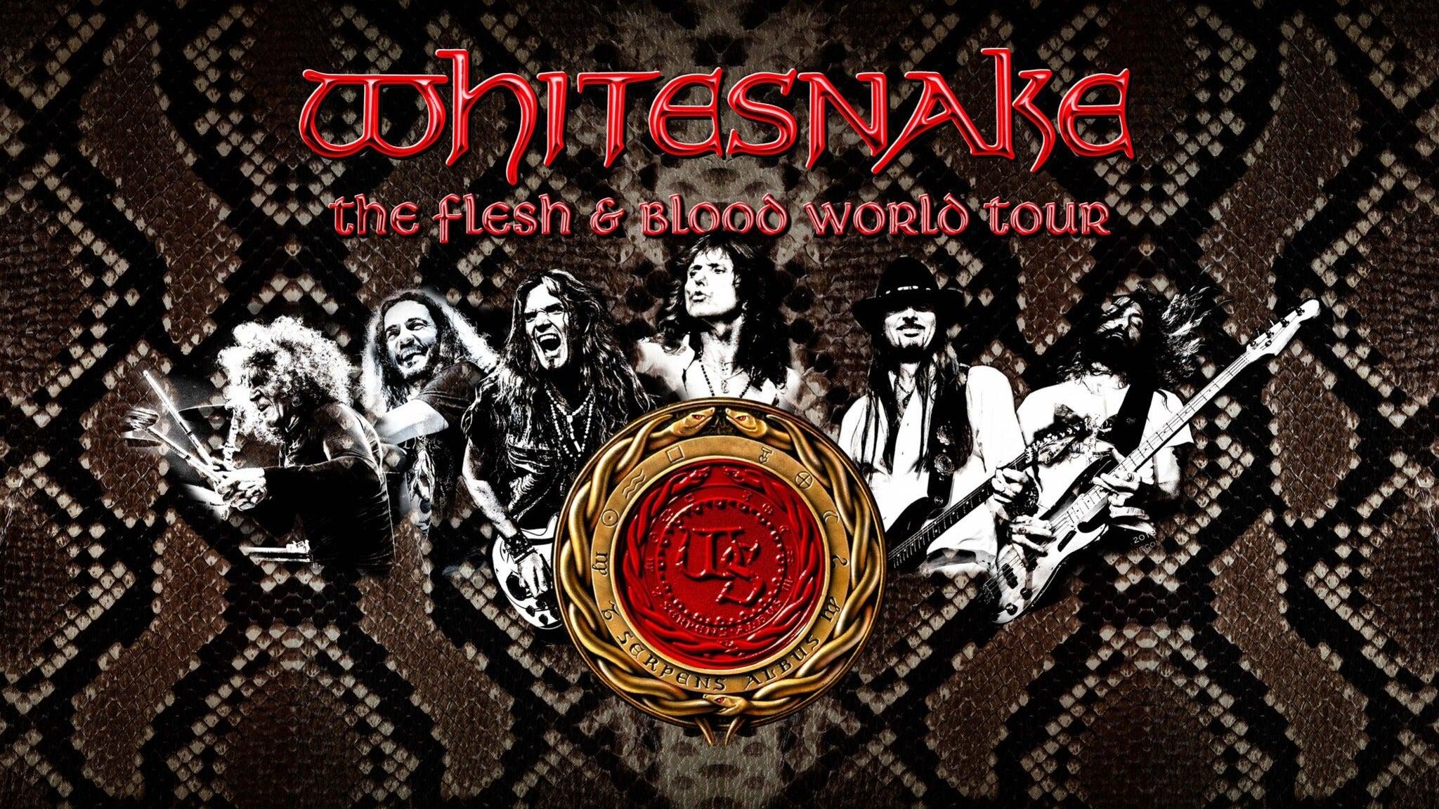 Whitesnake at STATE BANK AMPHITHEATRE AT CHASTAIN PARK