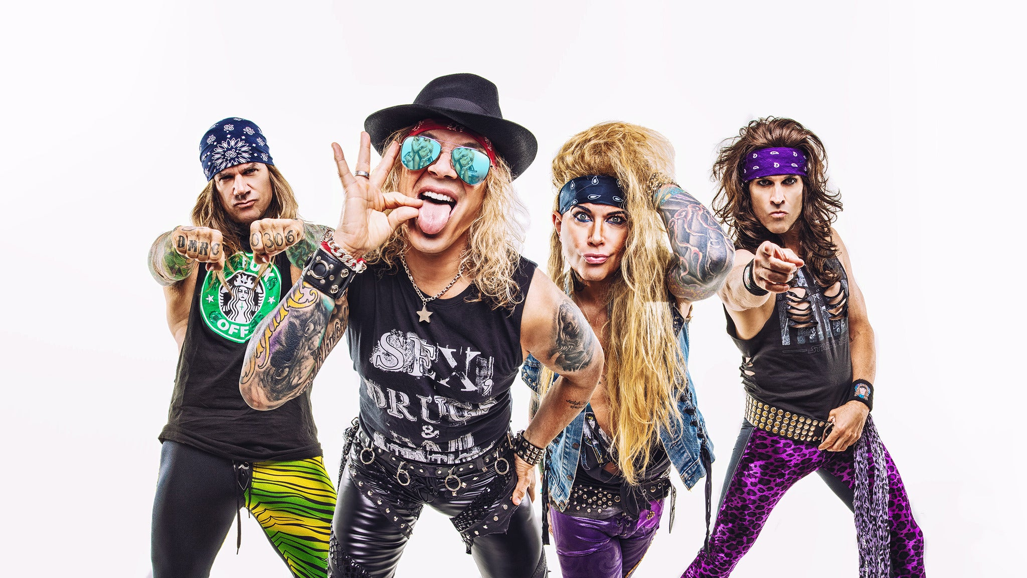 Steel Panther, Heavy Metal Rules Tour , Crobot
