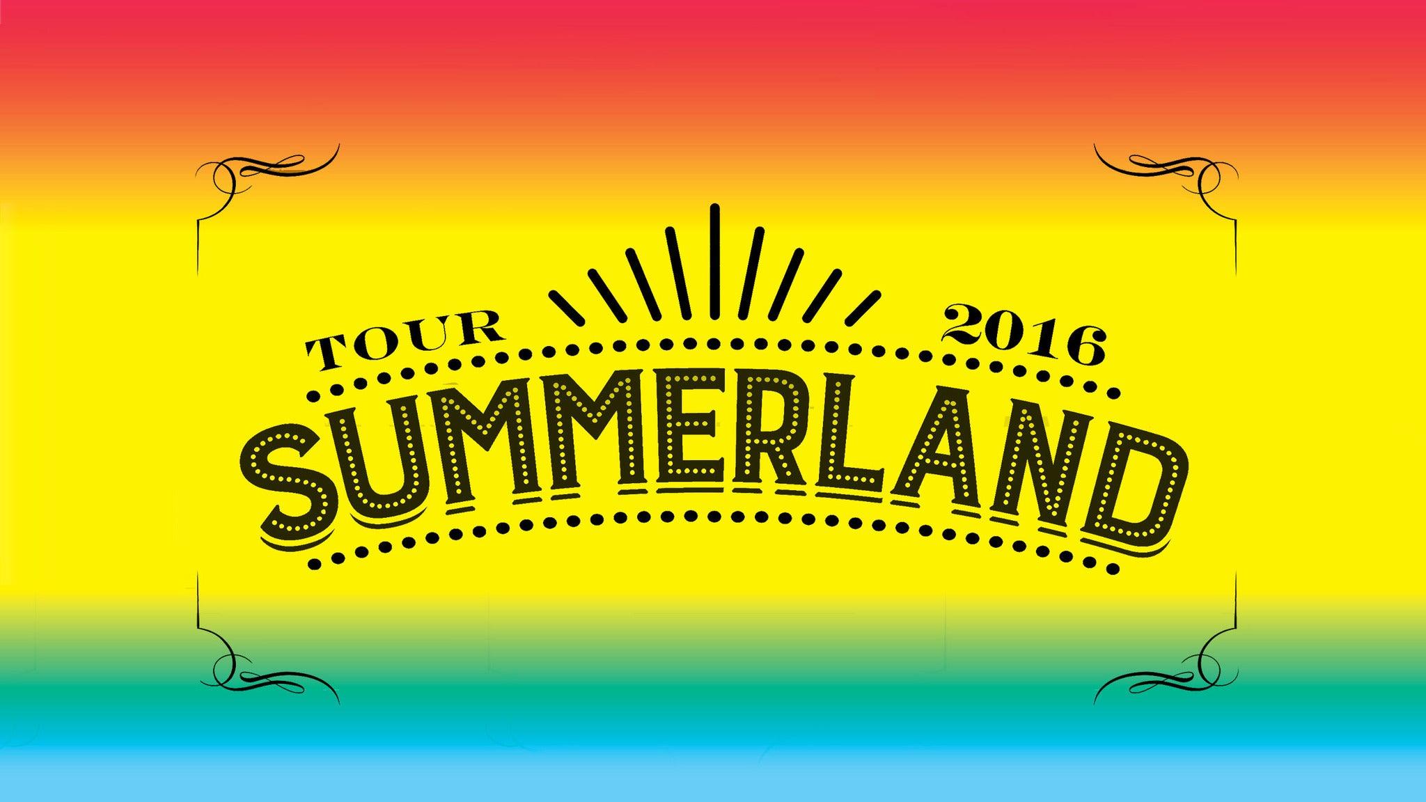 Summerland Tour 2016 at Laredo Energy Arena