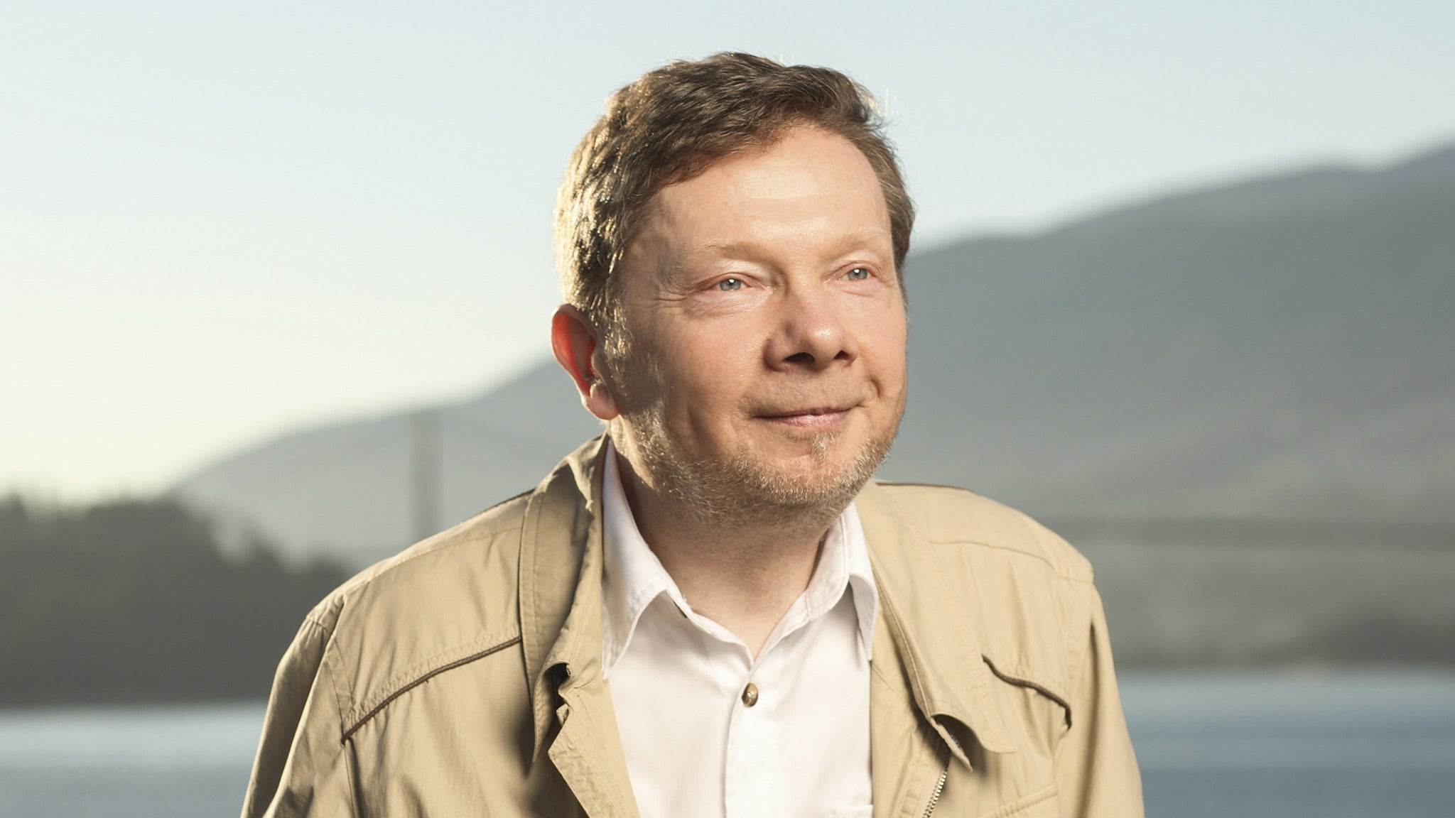 Eckhart Tolle at Shubert Theatre-MA