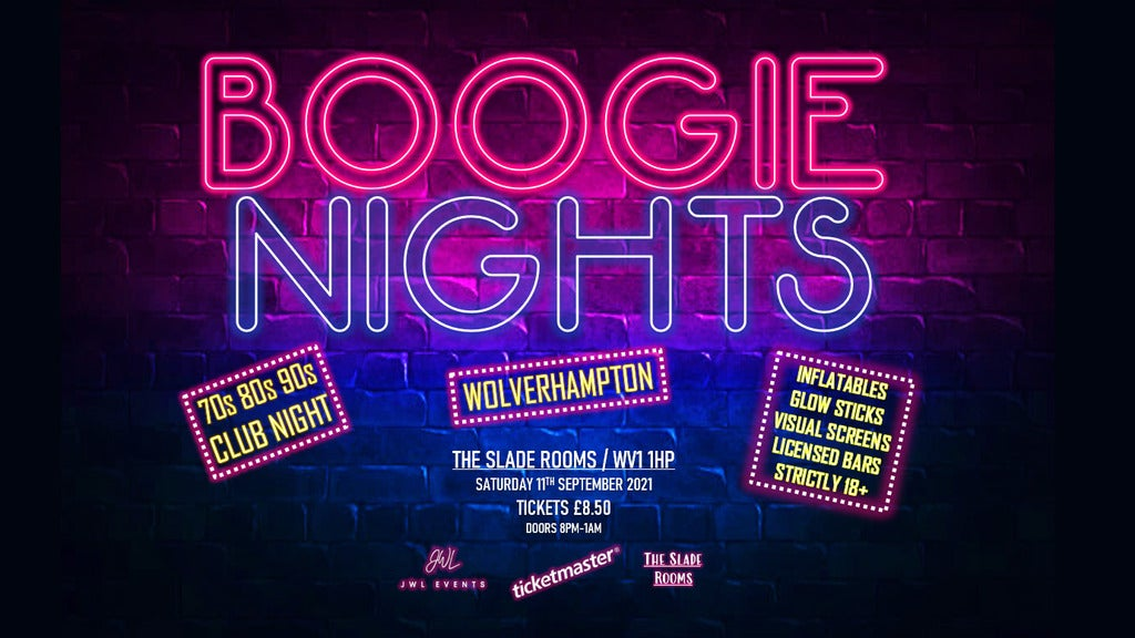 Hotels near Boogie Nights Events