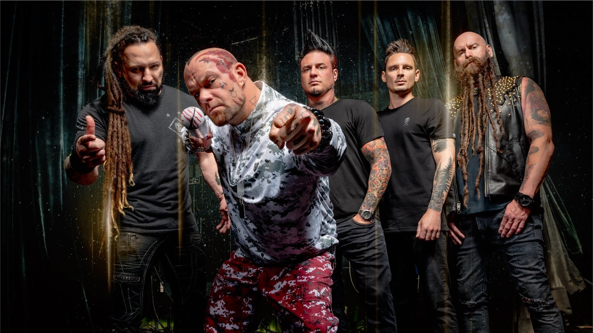 Five Finger Death Punch at Hertz Arena