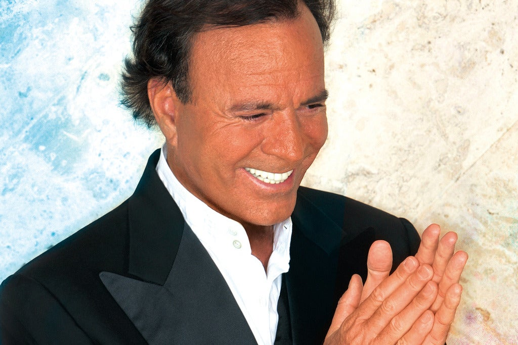 Julio Iglesias - the 50th Anniversary SSE Arena Wembley Seating Plan