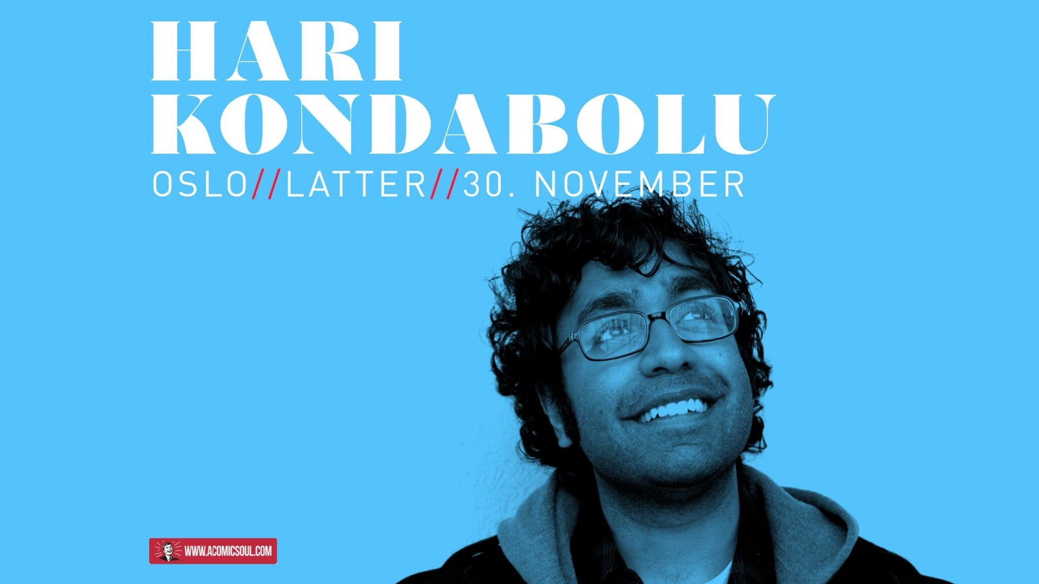Hari Kondabolu at Center Stage Theater