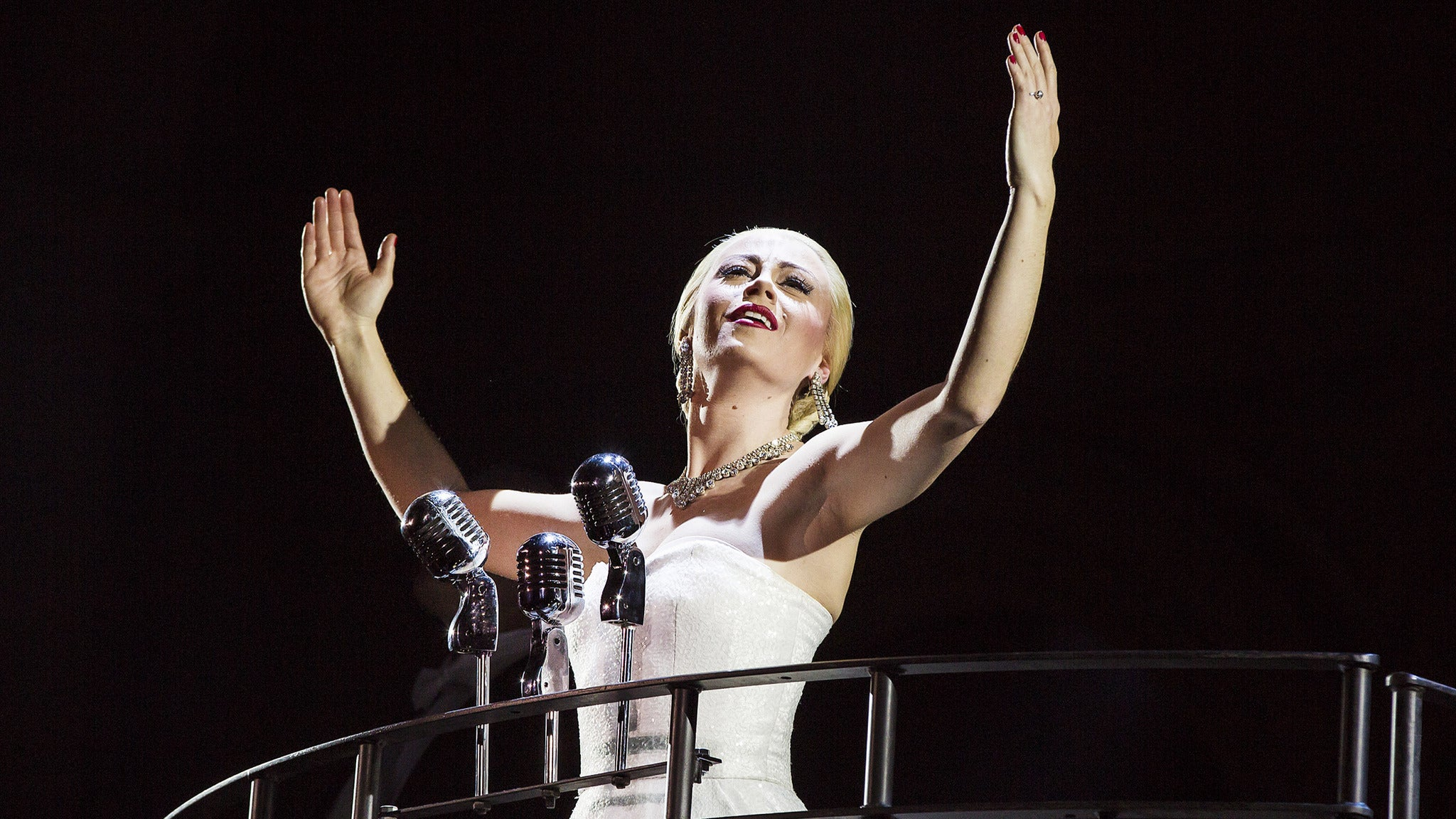 Evita at The Santander Performing Arts Center