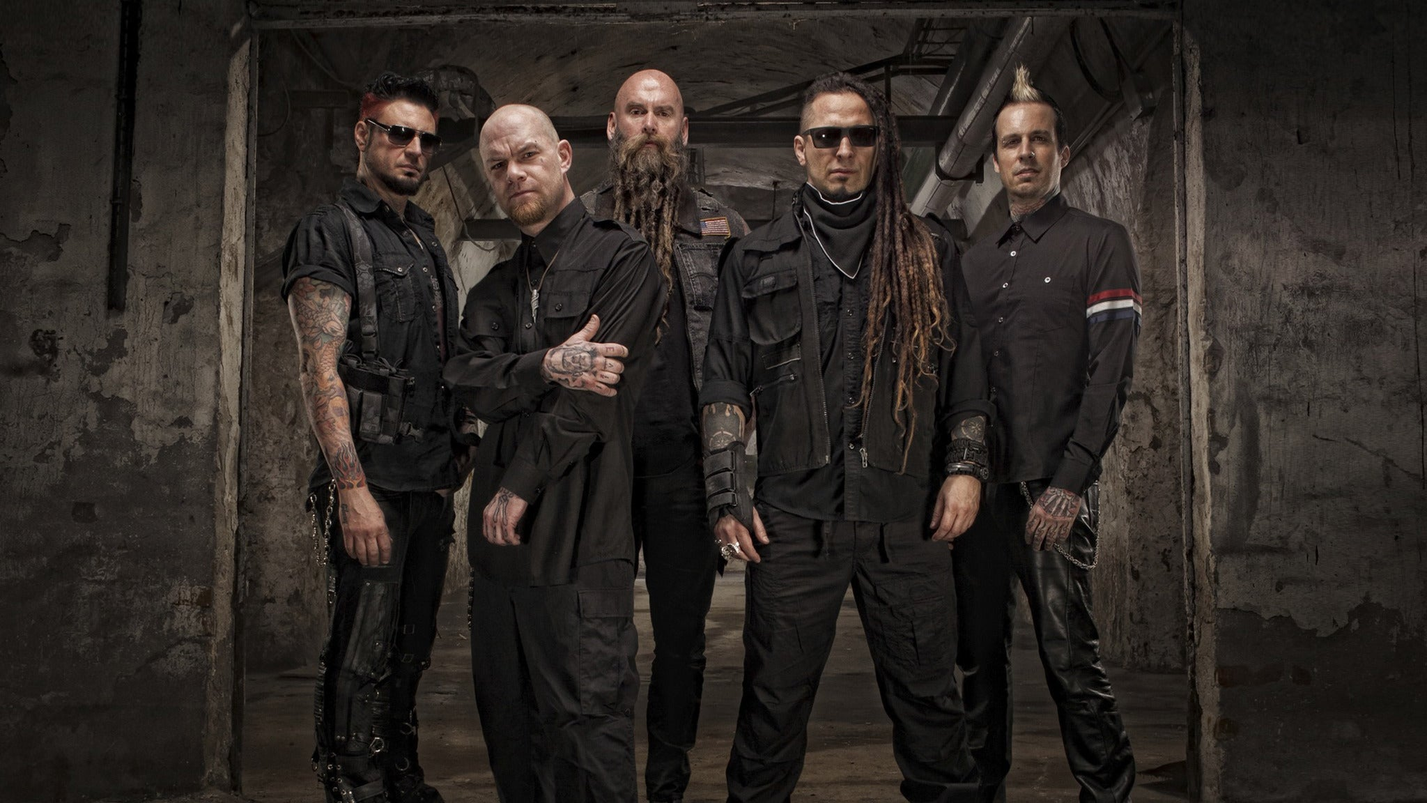 Five Finger Death Punch And Shinedown at Amway Center