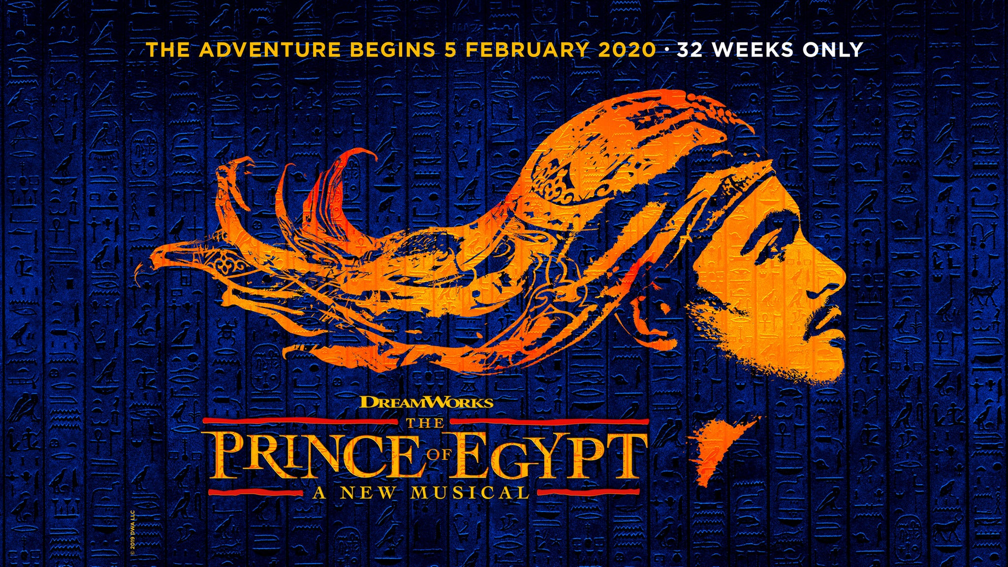 The Prince of Egypt Event Title Pic
