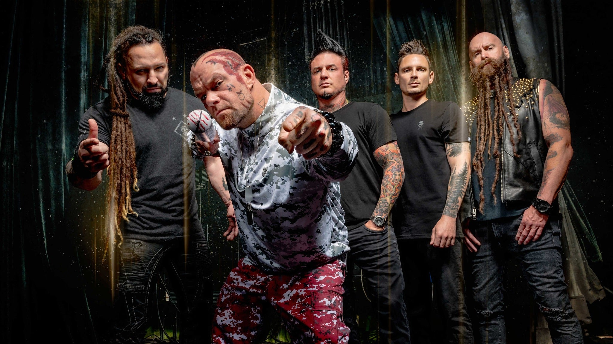 Five Finger Death Punch at McKenzie Arena
