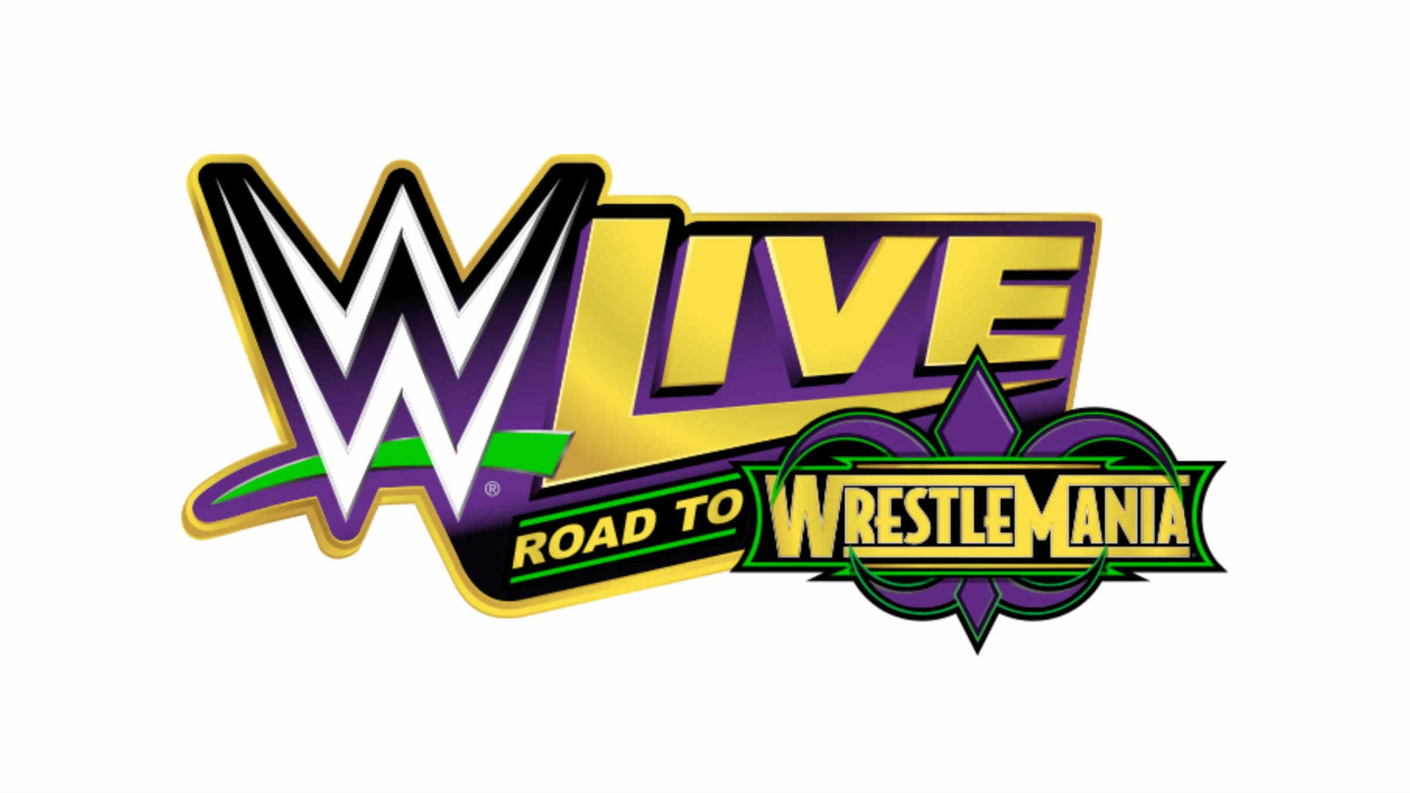 WWE Live Road to WrestleMania at Rapides Coliseum