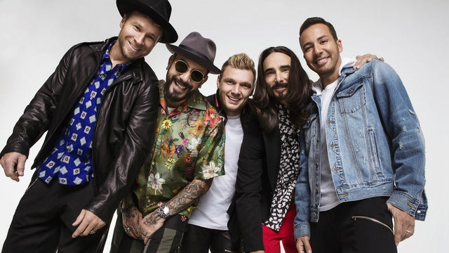 Backstreet Boys: DNA World Tour - VIP Packages Seating Plans