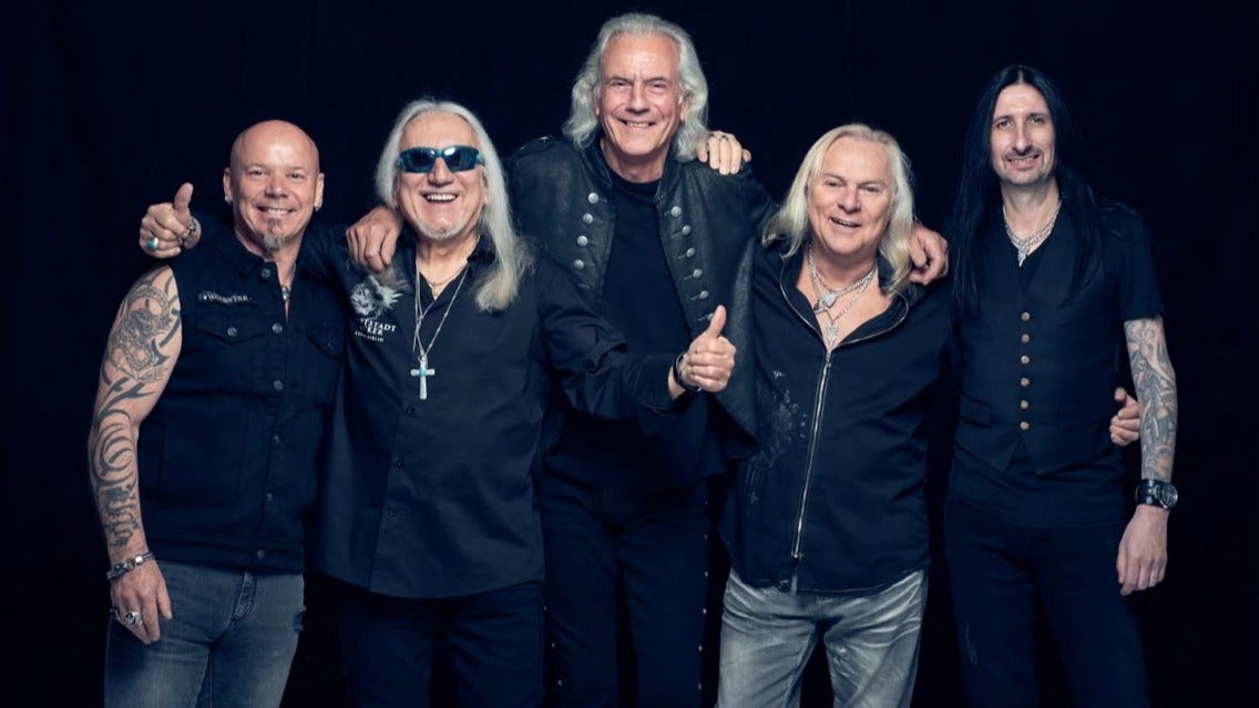 Uriah Heep tickets (Copyright © Ticketmaster)