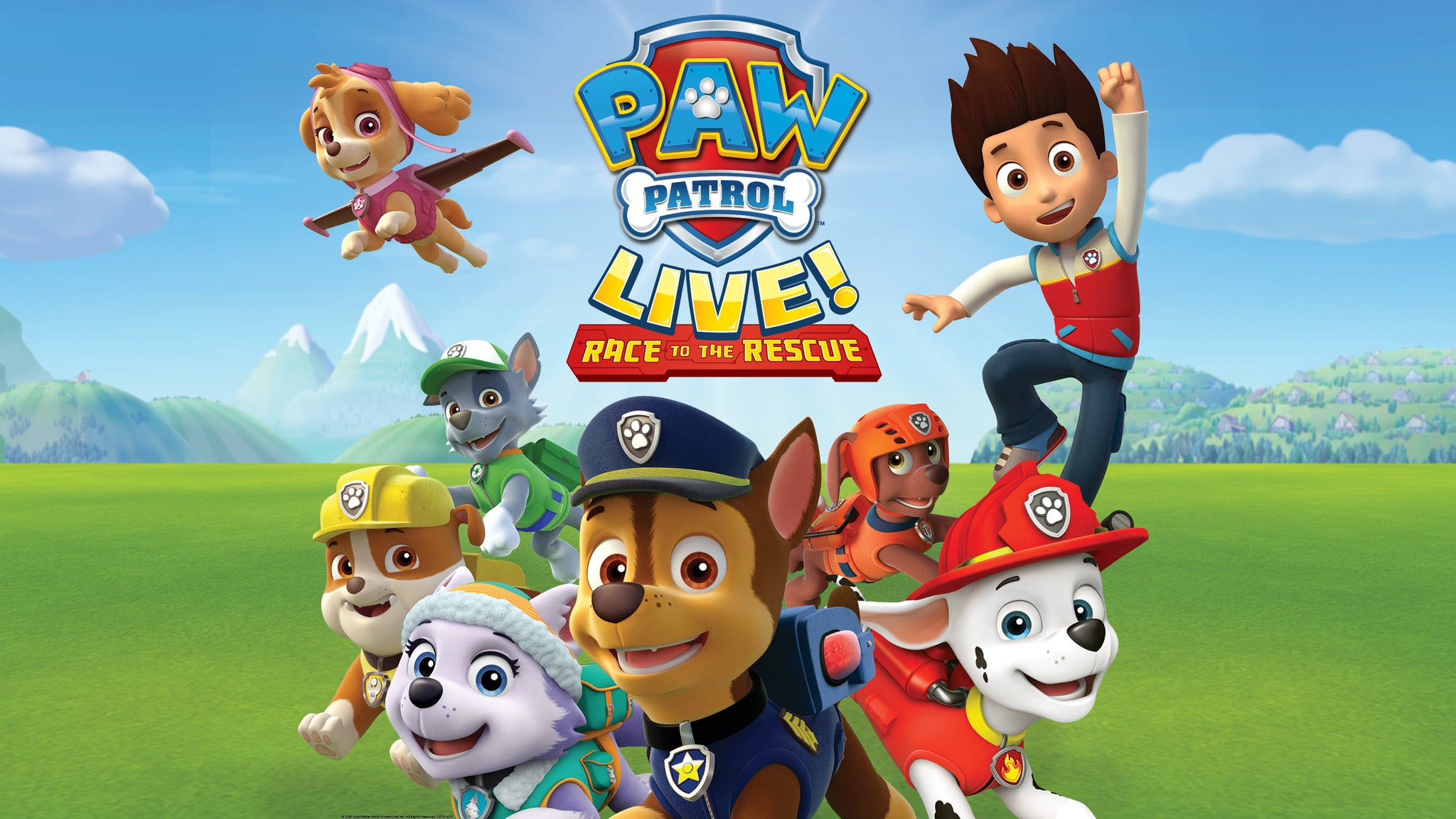 PAW Patrol Live!: Race to the Rescue