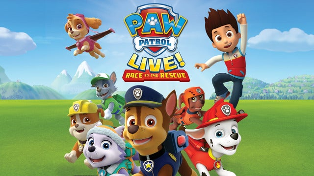 PAW Patrol Live!: Race to the Rescue | Newark, NJ | New Jersey Performing Arts Center | December 9, 2017