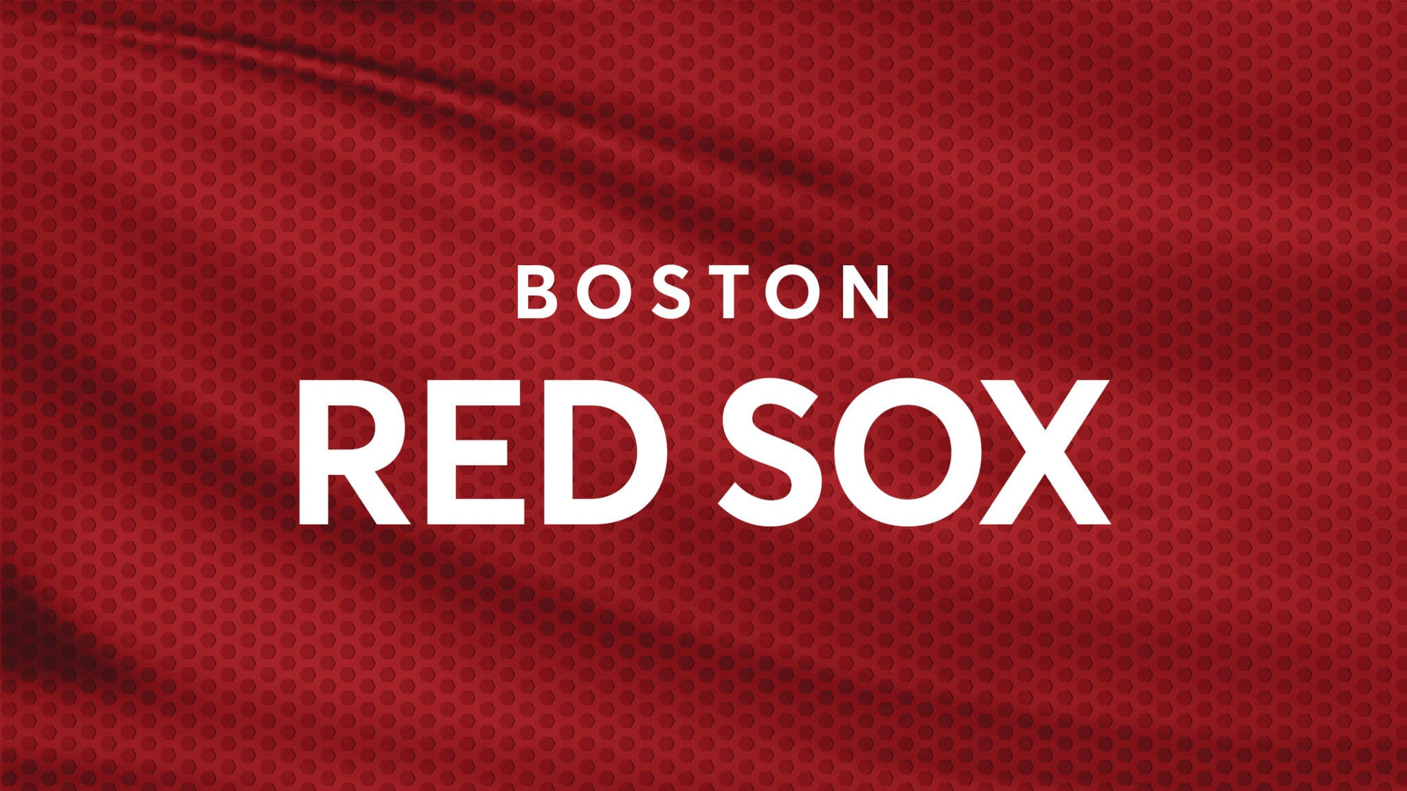 Boston Red Sox vs. Oakland Athletics