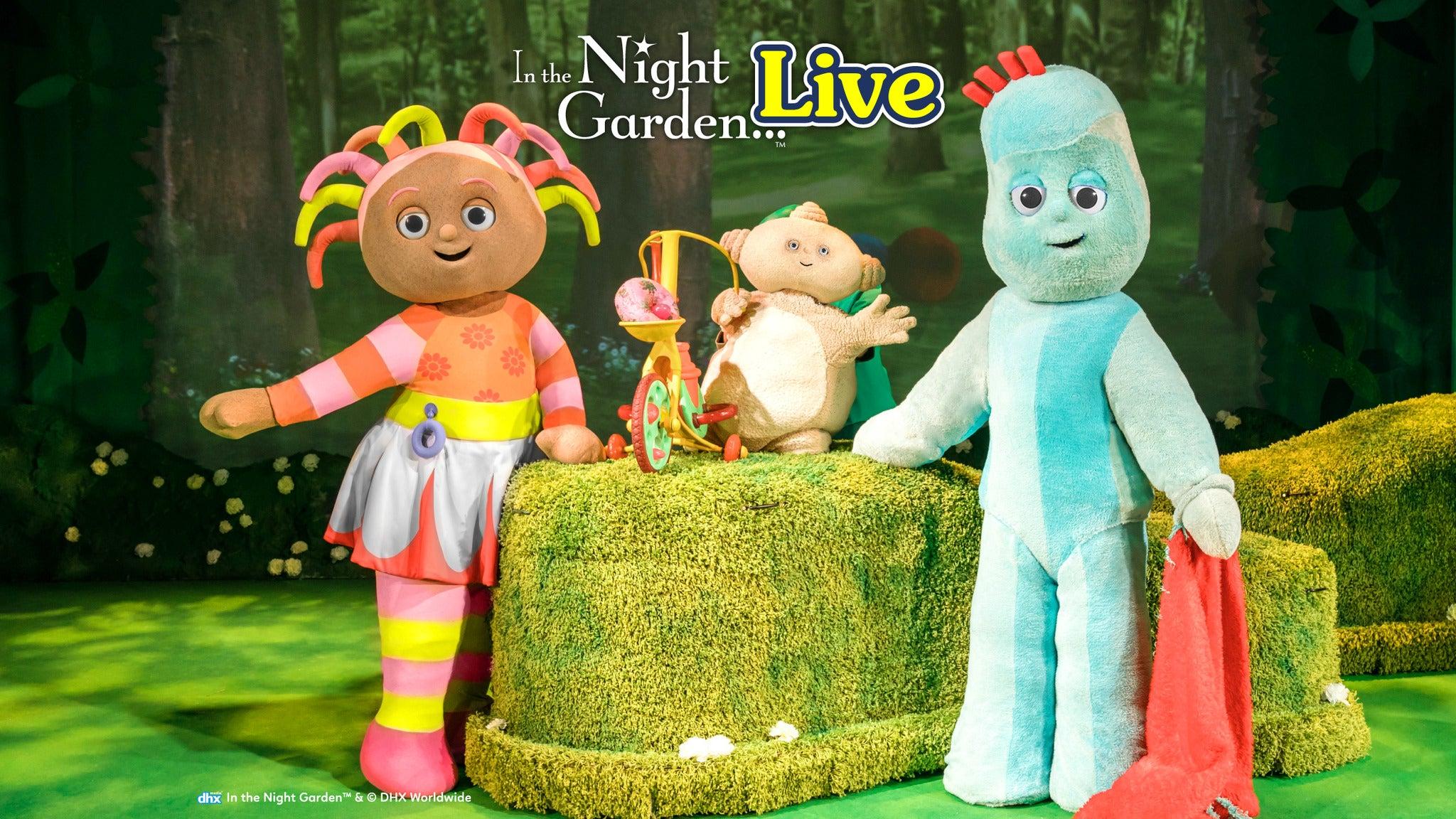 In the Night Garden Live tickets (Copyright © Ticketmaster)
