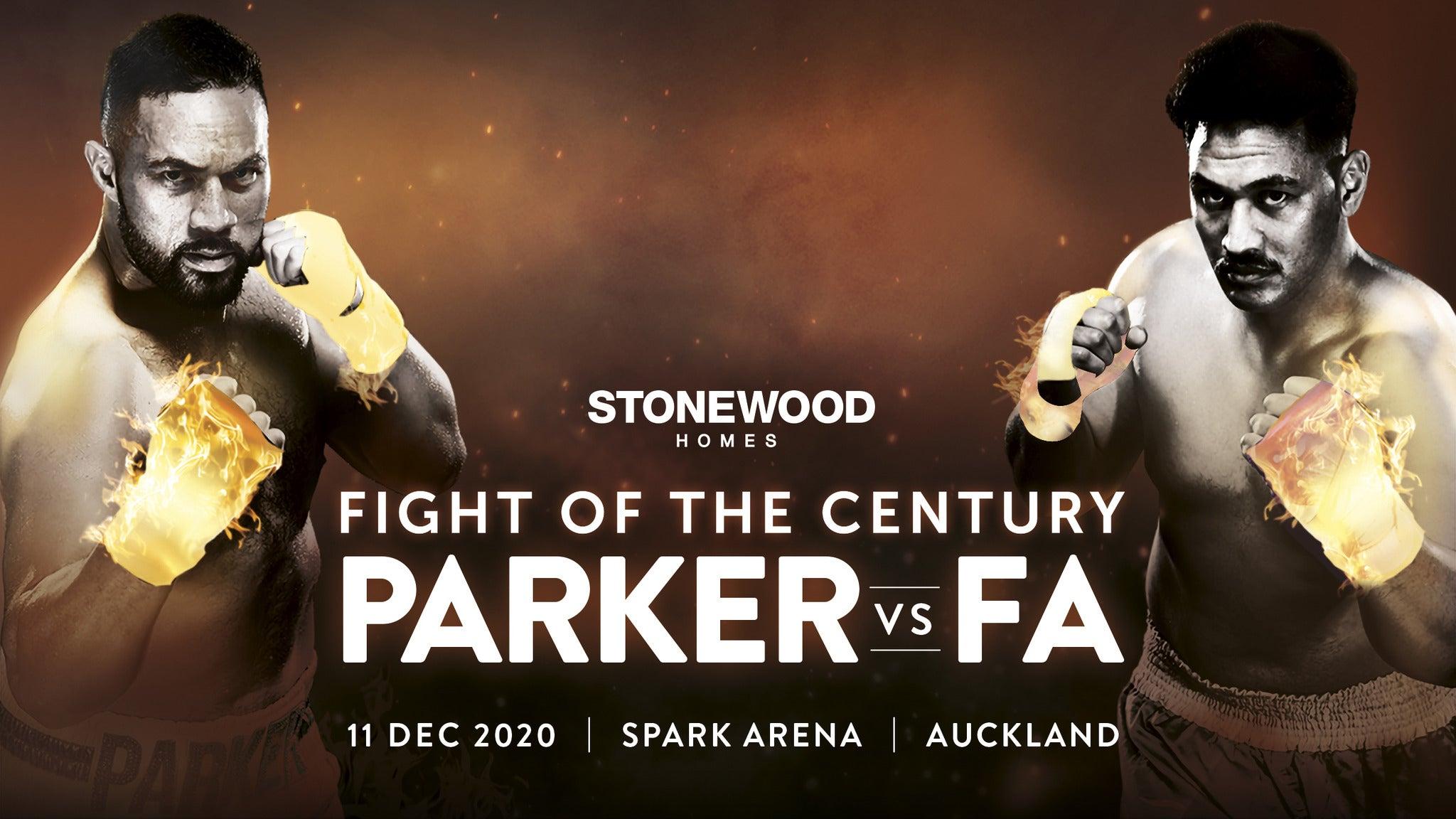 Copyright © Ticketmaster | Stonewood Homes Joseph Parker v Junior Fa tickets