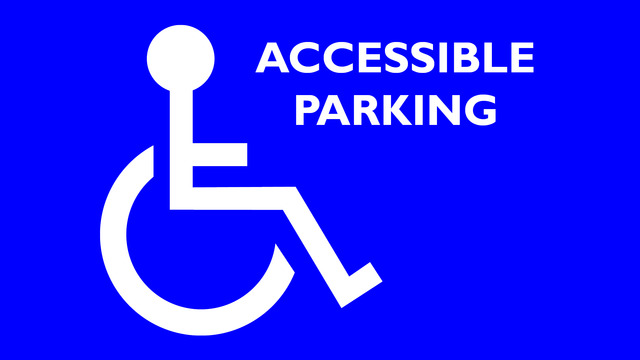 Accessible Parking For DPAC