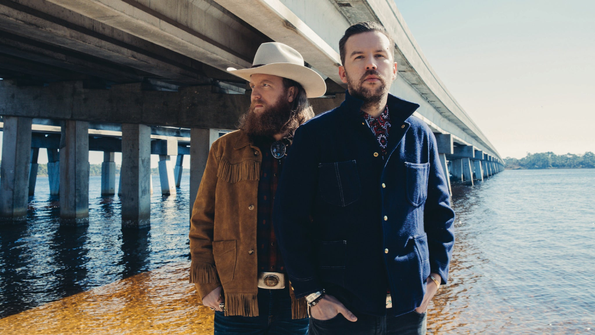 Brothers Osborne at Q Casino Back Waters Stage