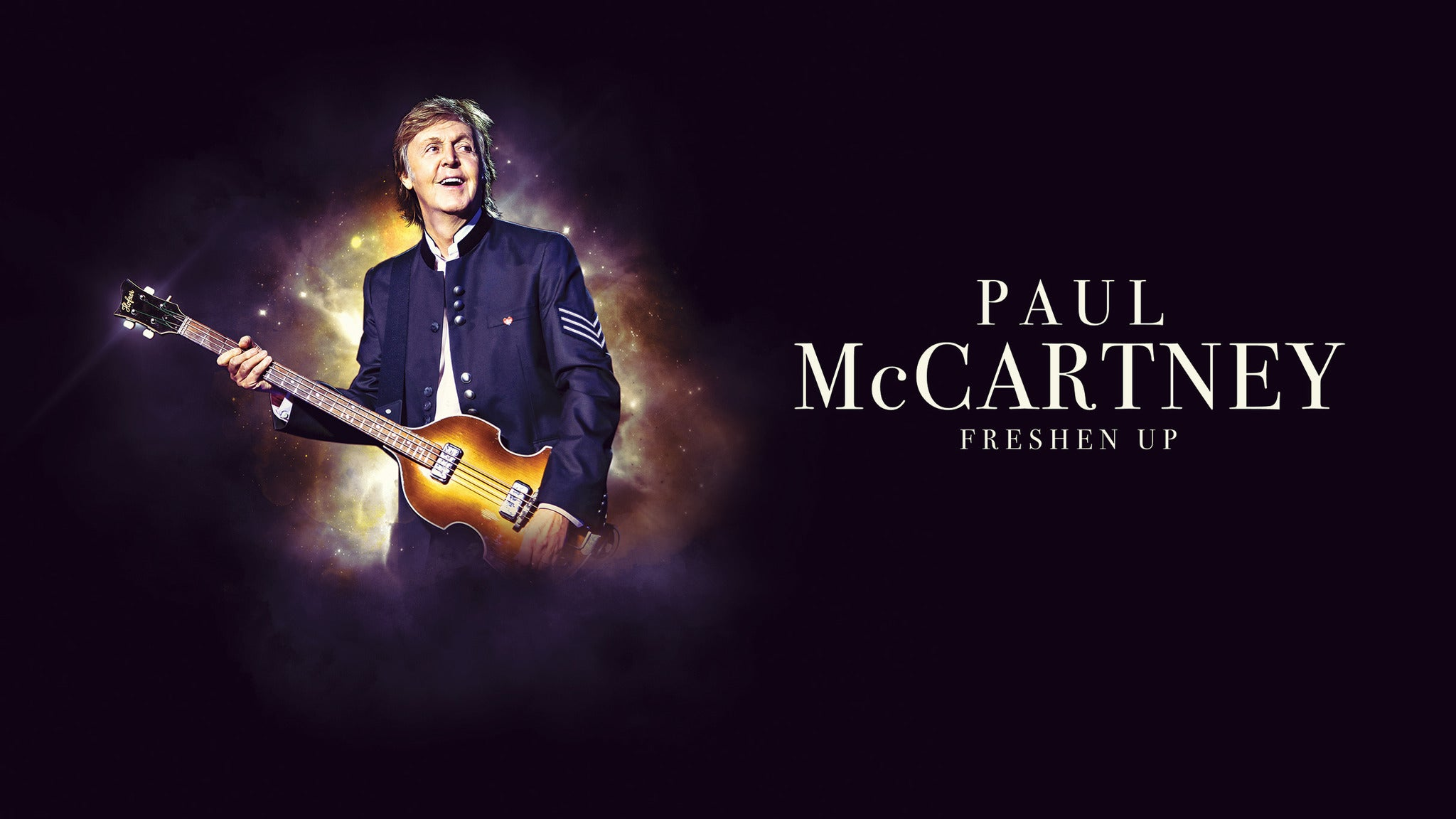 Paul McCartney Hot Sound UPGRADE - Ticket Not Included