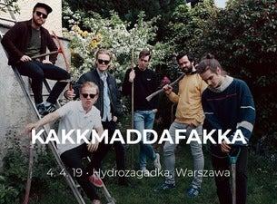 KAKKMADDAFAKKA, 2020-03-07, Warsaw
