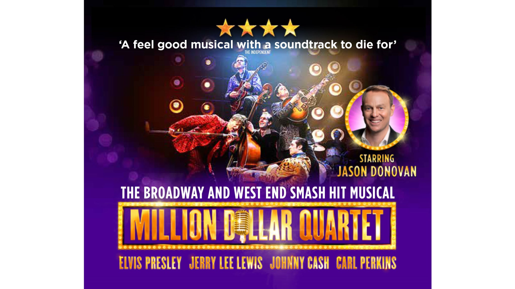 Million Dollar Quartet (Touring) at BancorpSouth Arena - Tupelo, MS 38804