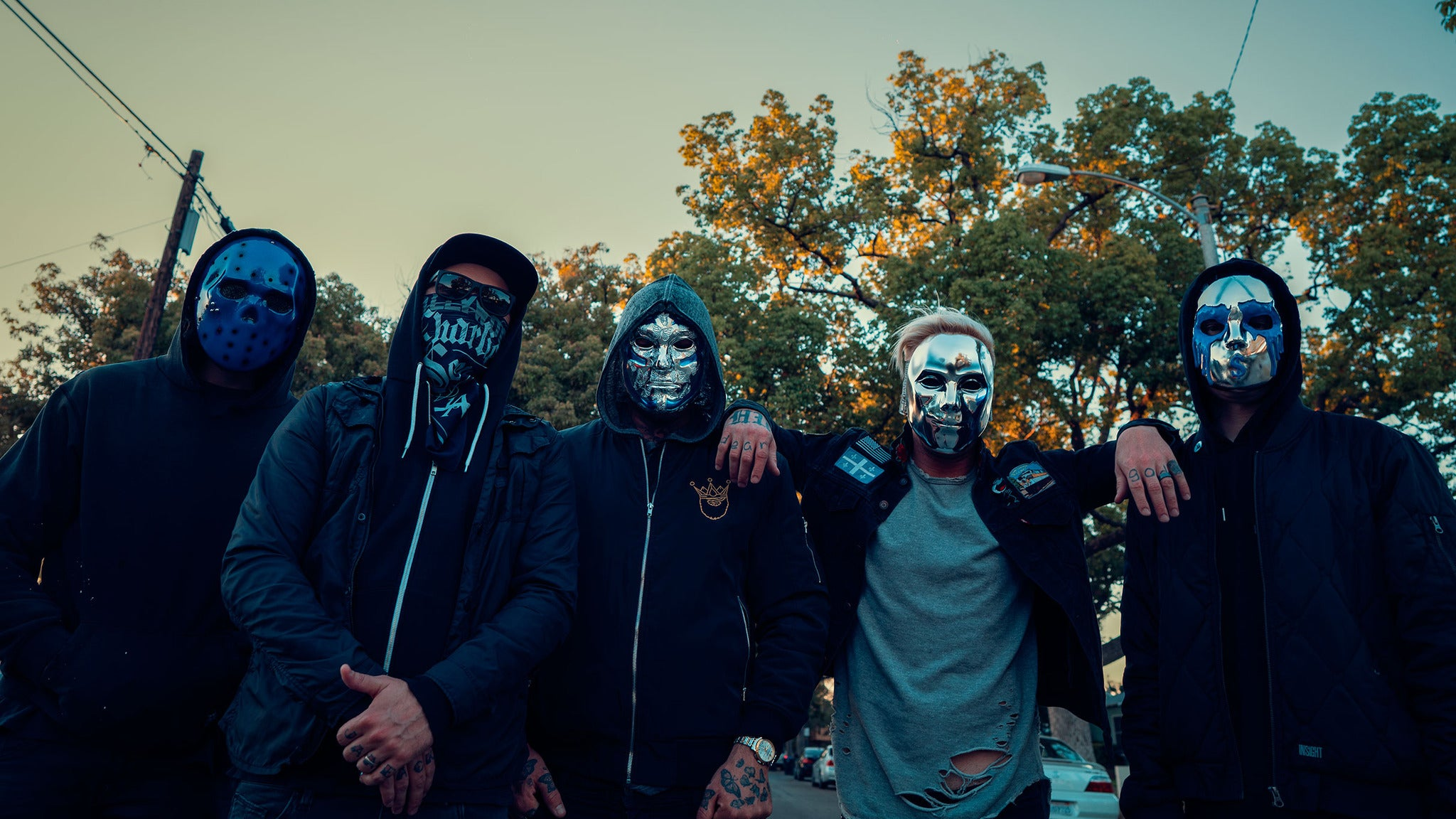 Hollywood Undead, Butcher Babies at The Forge