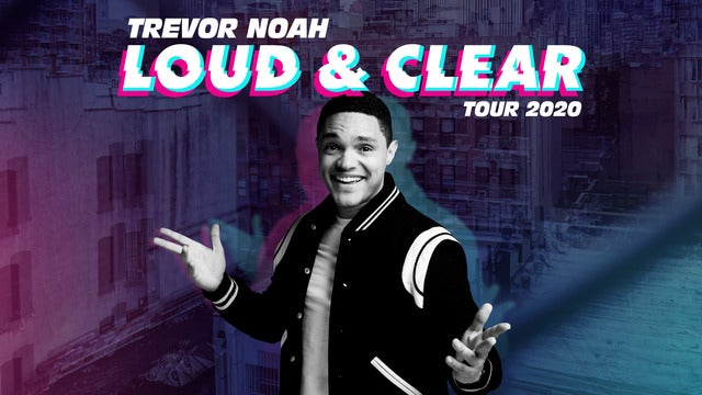 Trevor Noah - Loud and Clear Tour 2020 The O2 Arena Seating Plan