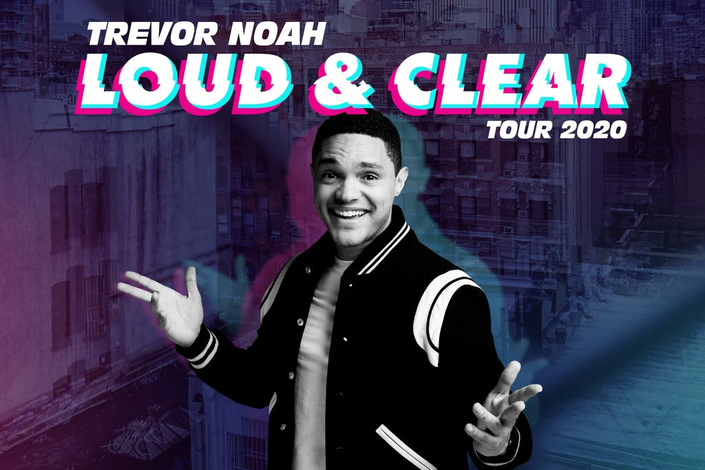 Trevor Noah - Loud and Clear Tour 2020 Arena Birmingham Seating Plan