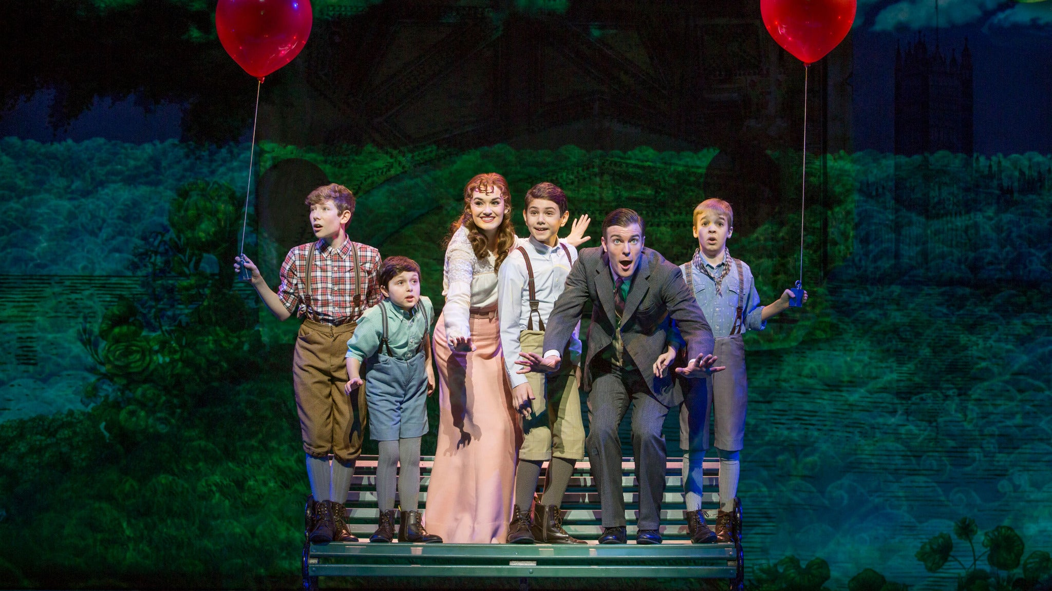 Finding Neverland (Touring) at Pensacola Saenger Theatre