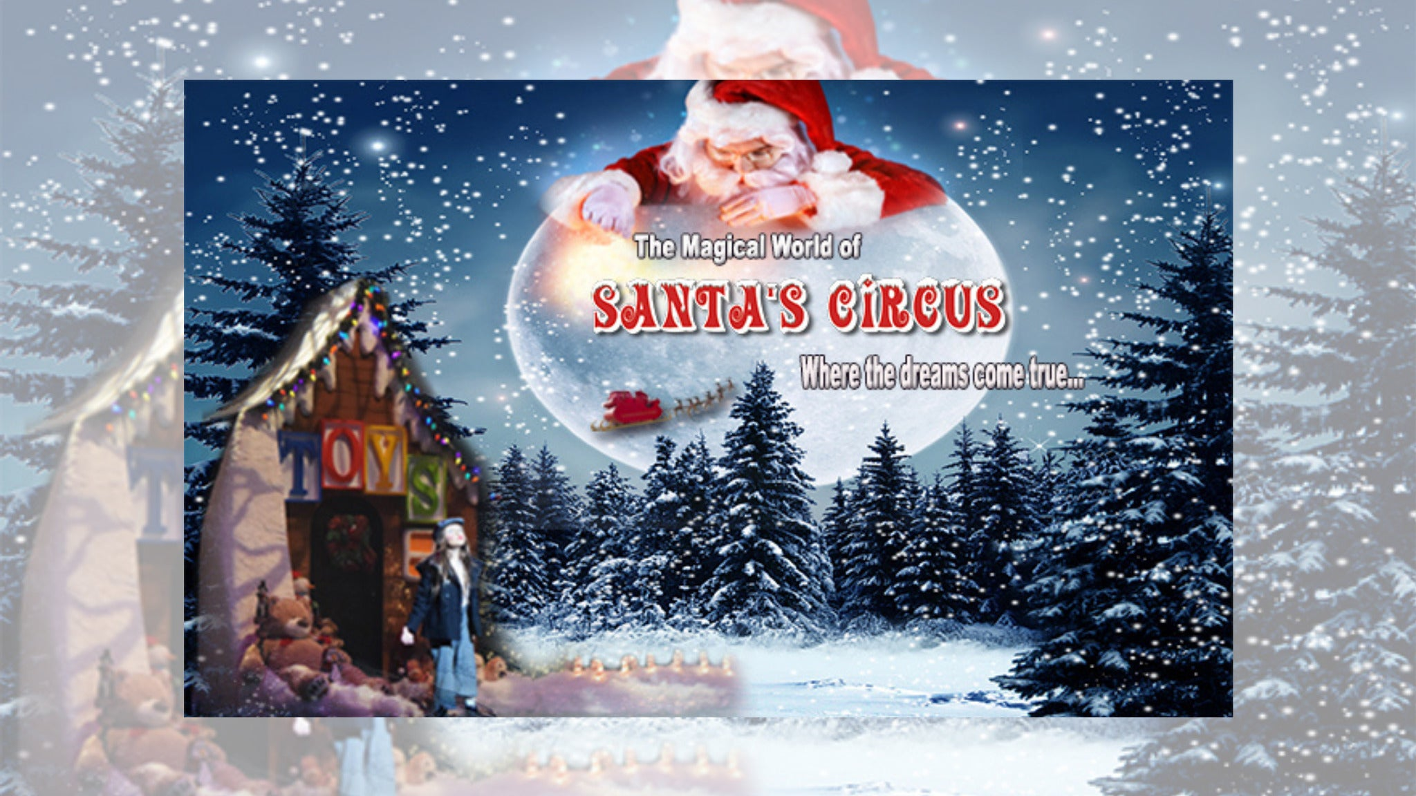 Image used with permission from Ticketmaster | Santas Circus tickets