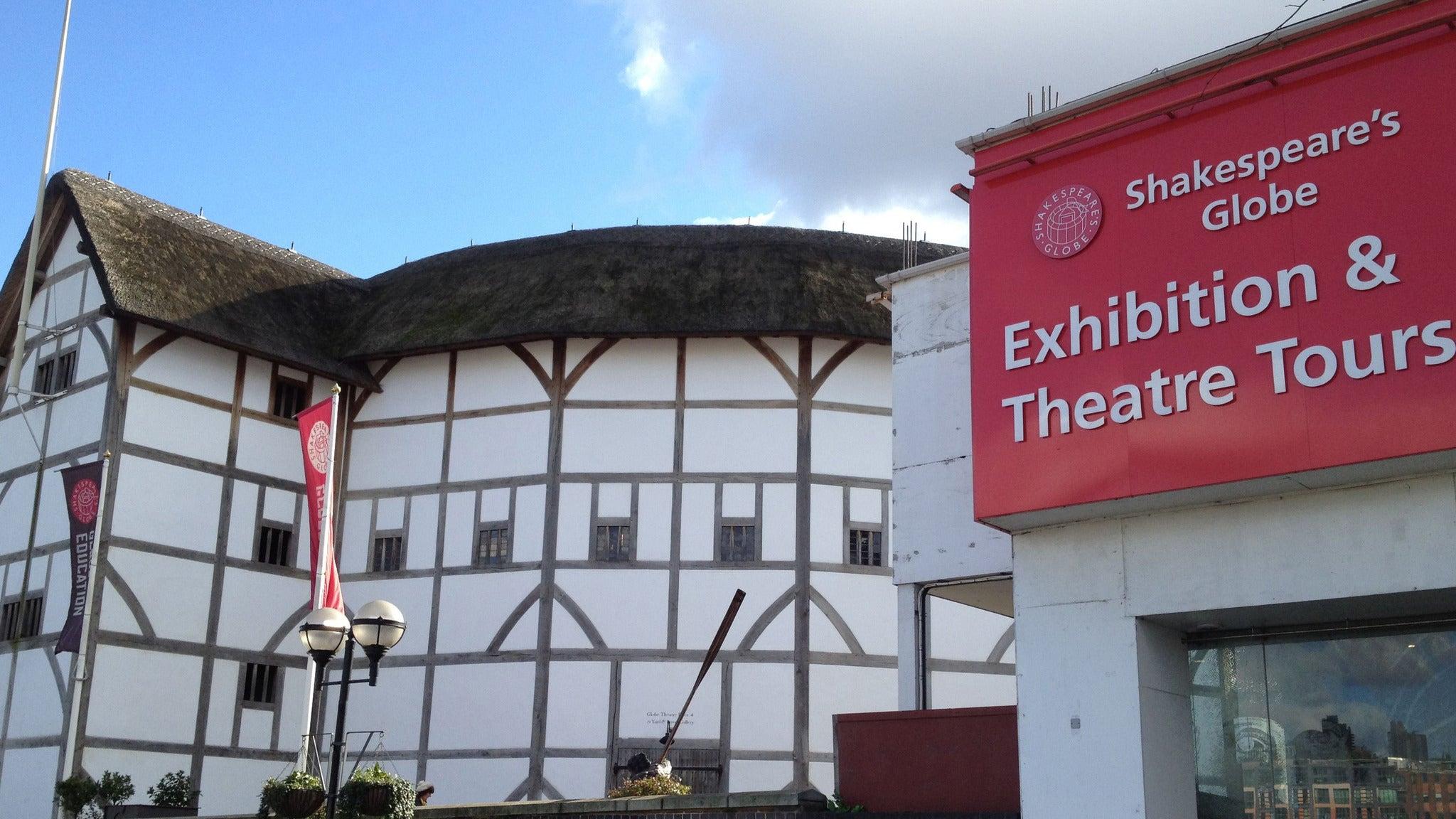Shakespeare's Globe Theatre Tours