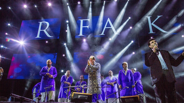 Ustad Rahat Fateh Ali Khan Seating Plan First Direct Arena