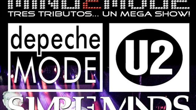 MIND2MODE -Tres Tributos. Un Mega Show!