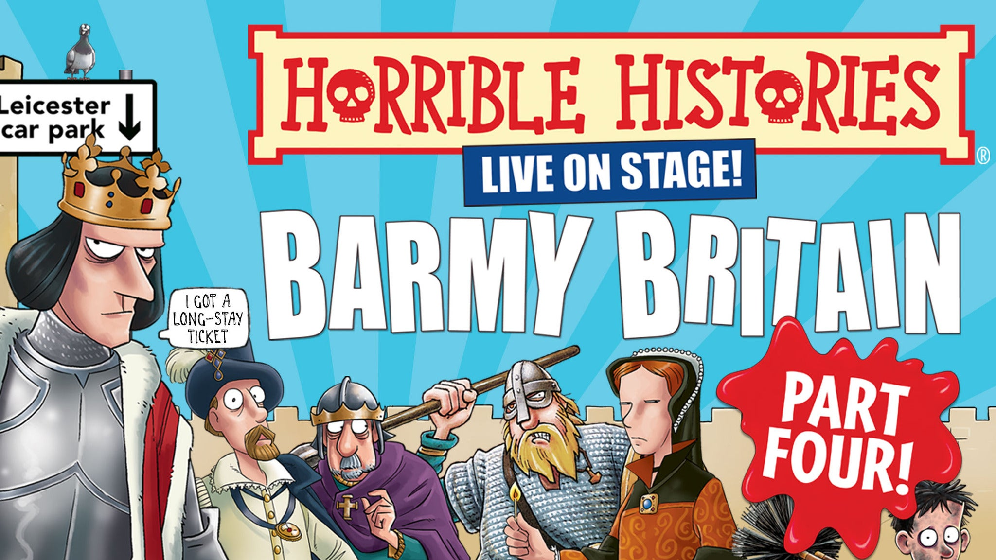 Horrible Histories - Groovy Greeks tickets (Copyright © Ticketmaster)