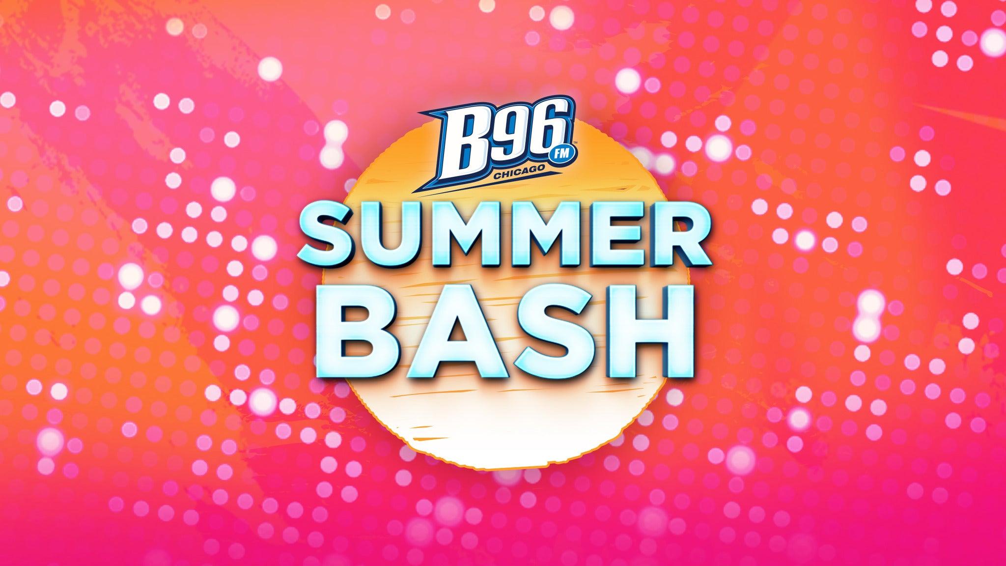 B96 Summer Bash at Allstate Arena