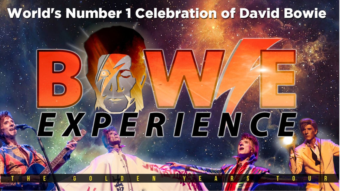 The Bowie Experience tickets (Copyright © Ticketmaster)