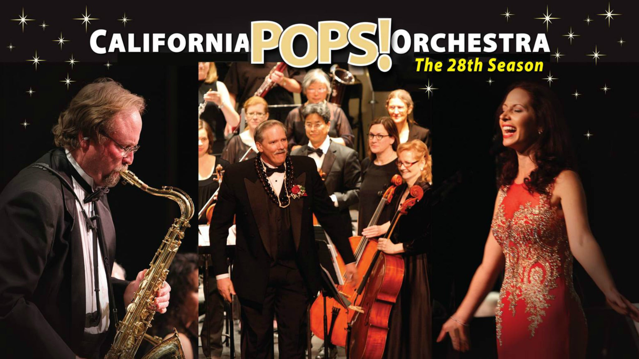 California Pops Orchestra - American Jubilee at Flint Center